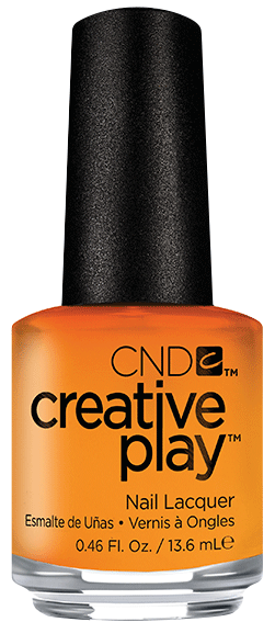 Cnd 424 лак для ногтей / apricot in
