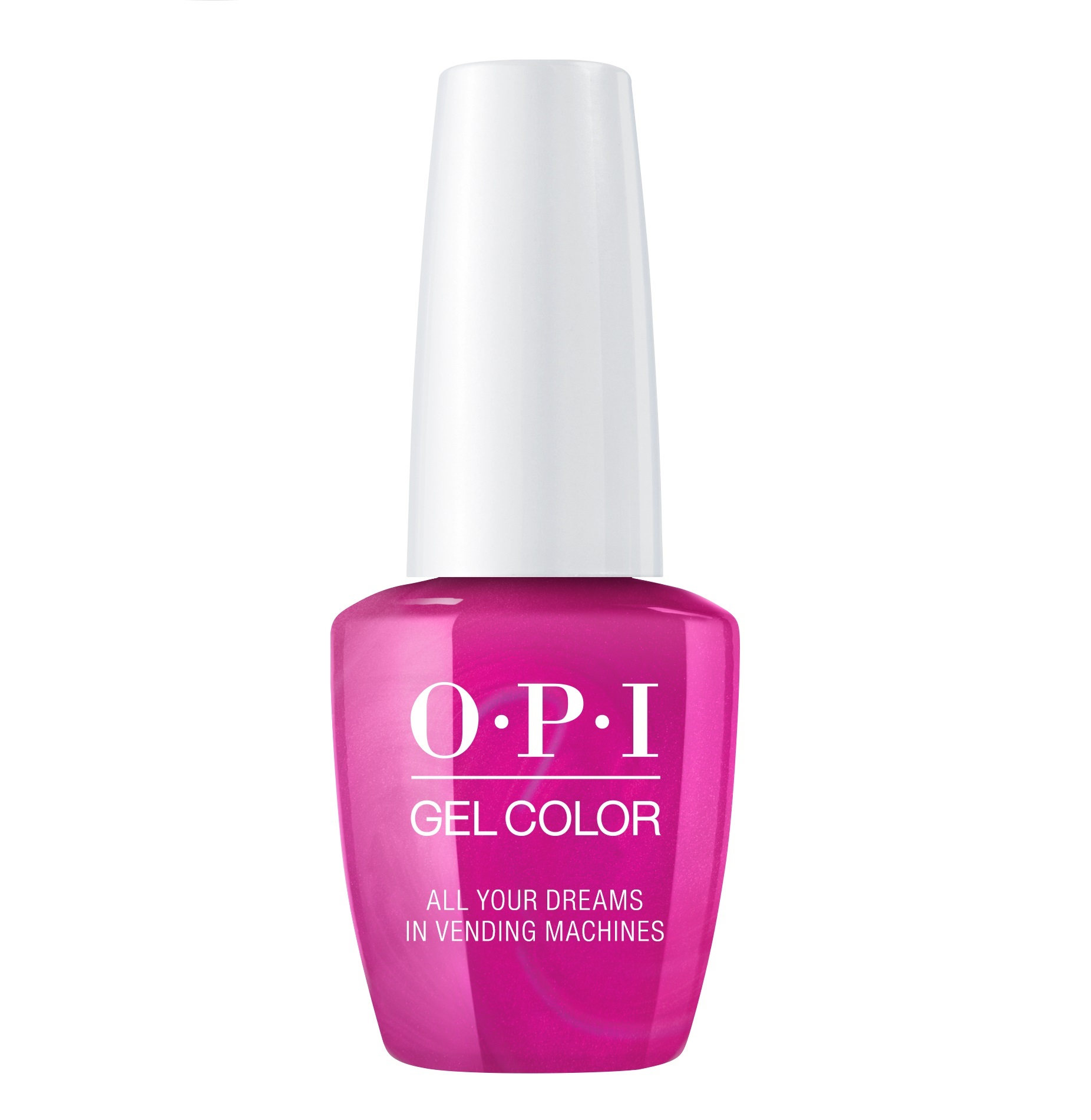 OPI Гель-лак для ногтей / All Your Dreamsin Vending Machines Gel Color 15 мл