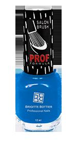BRIGITTE BOTTIER 805 лак для ногтей, глубокий синий / PROF FORMULA 12 мл
