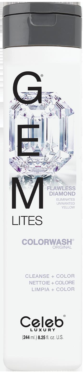 Купить CELEB LUXURY Шампунь для яркости цвета, бриллиант / Gem Lites Shampoo Flawless Diamond 244 мл