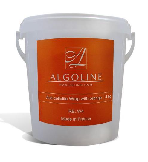 ALGOLINE Антицеллюлитное обертывание с апельсином / Anti-cellulite Wrap with orange 4кг от Галерея Косметики