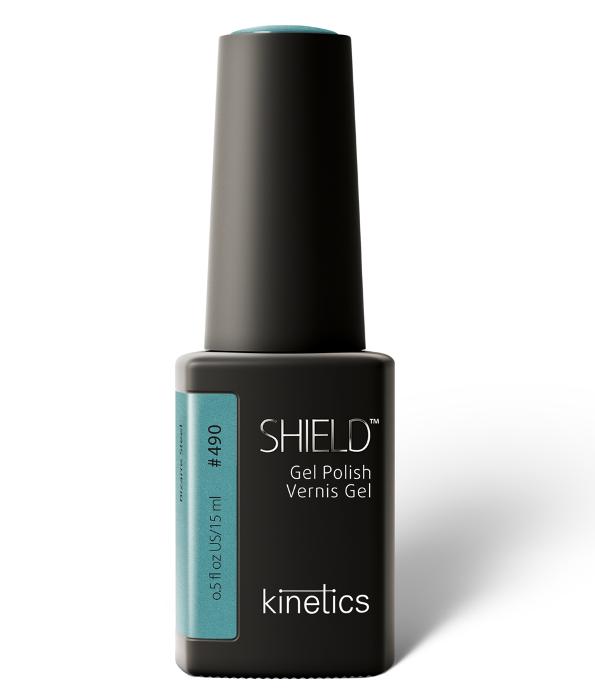 Купить KINETICS 490N гель-лак для ногтей / SHIELD Blank Space 15 мл, Зеленые