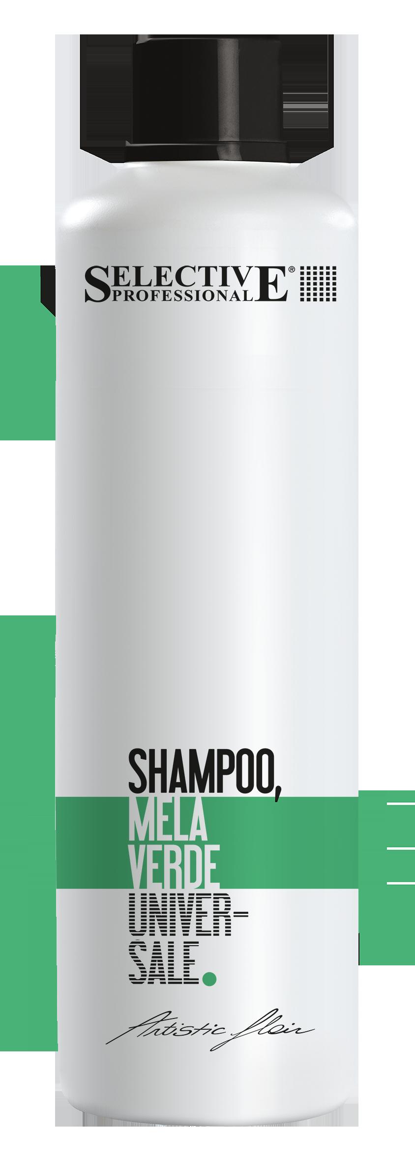 SELECTIVE PROFESSIONAL Шампунь для всех типов волос Зеленое яблоко / Mela Verde ARTISTIC FLAIR 1000 мл