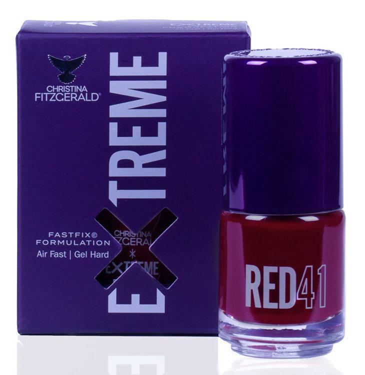Купить CHRISTINA FITZGERALD Лак для ногтей 41 / RED EXTREME 15 мл, Красные