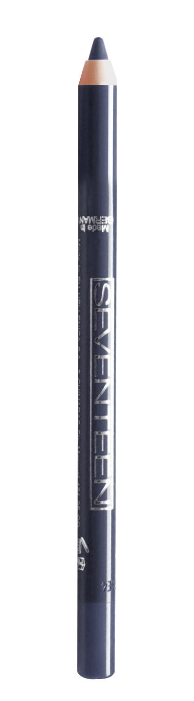 SEVENTEEN Карандаш водостойкий с витамином Е для век, 15 темный серо-синий / Super Smooth W/P & Longstay 1,2 г