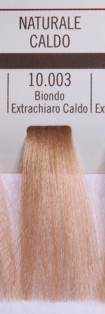 BAREX 10.003 краска для волос / PERMESSE 100млКраски<br>Оттенок: Экстра светлый блондин теплый. Профессиональная крем-краска Permesse отличается низким содержанием аммиака - от 1 до 1,5%. Обеспечивает блестящий и натуральный косметический цвет, 100% покрытие седых волос, идеальное осветление, стойкость и насыщенность цвета до следующего окрашивания. Комплекс сертифицированных органических пептидов M4, входящих в состав, действует с момента нанесения, увлажняя волосы, придавая им прочность и защиту. Пептиды избирательно оседают в самых поврежденных участках волоса, восстанавливая и защищая их. Масло карите оказывает смягчающее и успокаивающее действие. Комплекс пептидов и масло карите стимулируют проникновение пигментов вглубь структуры волоса, придавая им здоровый вид, блеск и долговечность косметическому цвету. Активные ингредиенты:&amp;nbsp;Сертифицированные органические пептиды М4 - пептиды овса, бразильского ореха, сои и пшеницы, объединенные в полифункциональный комплекс, придающий прочность окрашенным волосам, увлажняющий и защищающий их. Сертифицированное органическое масло карите (масло ши) - богато жирными кислотами, экстрагируется из ореха африканского дерева карите. Оказывает смягчающий и целебный эффект на кожу и волосы, широко применяется в косметической индустрии. Масло карите защищает волосы от неблагоприятного воздействия внешней среды, интенсивно увлажняет кожу и волосы, т.к. обладает высокой степенью абсорбции, не забивает поры. Способ применения:&amp;nbsp;Крем-краска готовится в смеси с Молочком-оксигентом Permesse 10/20/30/40 объемов в соотношении 1:1 (например, 50 мл крем-краски + 50 мл молочка-оксигента). Молочко-оксигент работает в сочетании с крем-краской и гарантирует идеальное проявление краски. Тюбик крем-краски Permesse содержит 100 мл продукта, количество, достаточное для 2 полных нанесений. Всегда надевайте подходящие специальные перчатки перед подготовкой и нанесением краски. Подготавливайте смесь крем-краски и молочка-оксигента Permes