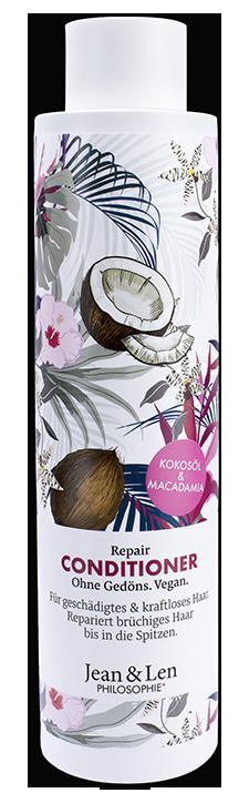 Купить JEAN & LEN Кондиционер восстанавливающий с кокосовым маслом и макадамией / PHILOSOPHI CONDITIONER REPAIR KOKOSOL & MACADAMIA 300 мл