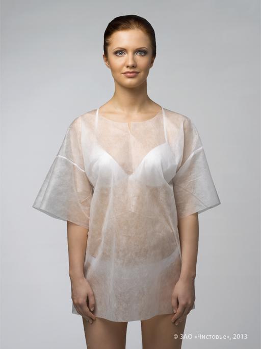 ЧИСТОВЬЕ Рубашка с рукавами SMS р. ХL 5шт/упк