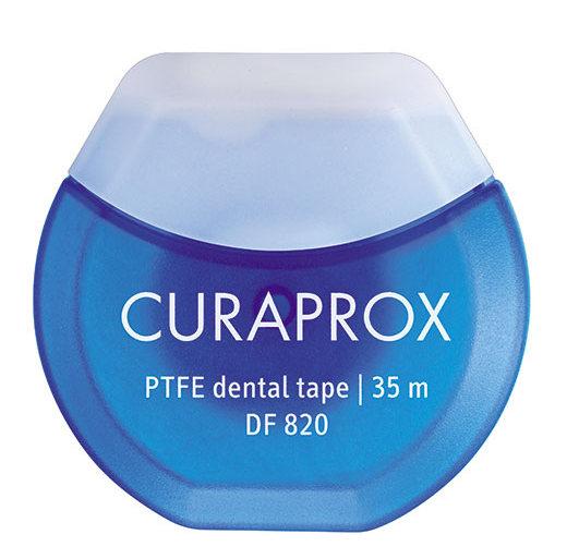 CURAPROX Нить межзубная тефлоновая с хлоргексидином, 35 м