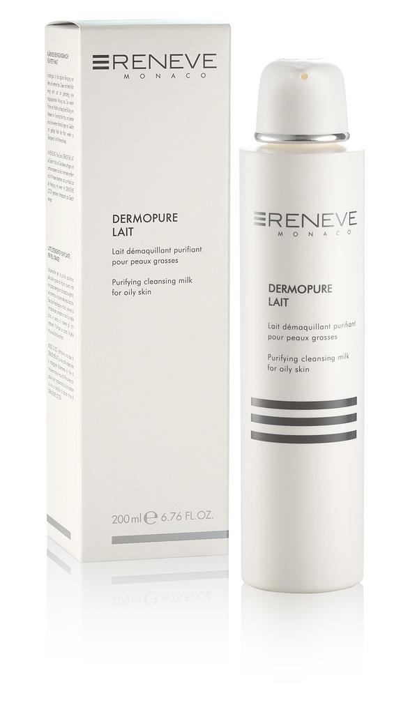 RENEVE Молочко очищающее для жирной кожи лица / DERMOPURE LAIT 200мл
