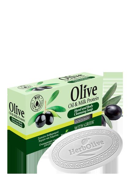 MADIS Мыло оливковое с молочным протеином / HerbOlive 90 гр