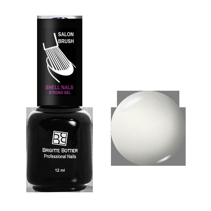 BRIGITTE BOTTIER 900 гель-лак для ногтей & Белый&  / Shell Nails 12мл -  Гель-лаки