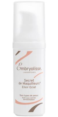 EMBRYOLISSE Основа под макияж ухаживающая, с эффектом сияния / Secret De Maquilleurs - Elixir Eclat 30млСыворотки<br>Увлажненная, восстановленная, подтянутая кожа. Безупречный сияющий тон лица. Для всех типов кожи. Истинный эликсир красоты! Быстро впитывается, идеально подготавливая Вашу кожу к нанесению макияжа! Эта уникальная сыворотка на основе растительных экстрактов и гиалуроновой кислоты мгновенно увлажняет кожу, наполняет ее сиянием, устраняя все признаки усталости. Экстракт органического лимона (подтверждено Ecocert) тонизирует, очищает, осветляет, и придает сияние коже лица; экстракт вирджинского гамамелиса очищает и сужает поры; невидимые перламутровые пигменты отражают свет, скрывают все несовершенства, выравнивают, буквально стирая мелкие морщинки с поверхности кожи. Активные ингредиенты: гиалуроновая кислота, экстракт органического лимона (подтверждено Ecocert), экстракт вирджинского гамамелиса, невидимые перламутровые пигменты. Способ применения: наносить ежедневно в качестве основы под макияж. Как самостоятельное средство (для сияния кожи). Также, является «волшебным рецептом», помогающим быстро избавиться от следов усталости перед важным событием или после бессонной ночи.<br><br>Пол: Женский<br>Класс косметики: Домашняя<br>Типы кожи: Для всех типов