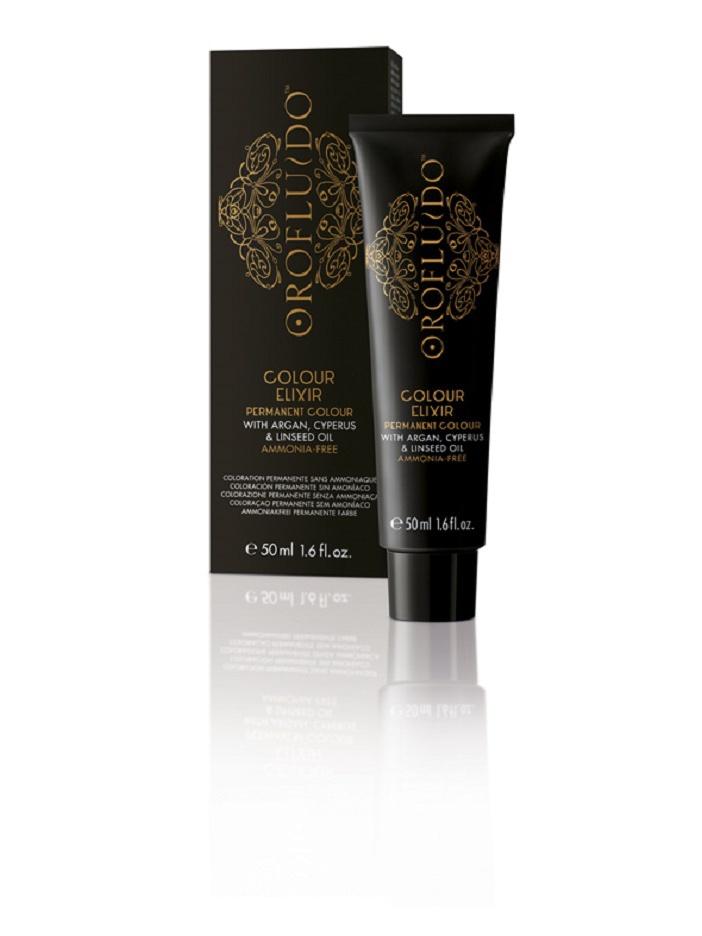 OROFLUIDO 7-32 краска для волос, средний блонд золотисто-жемчужный / OROFLUIDO COLOR 50мл