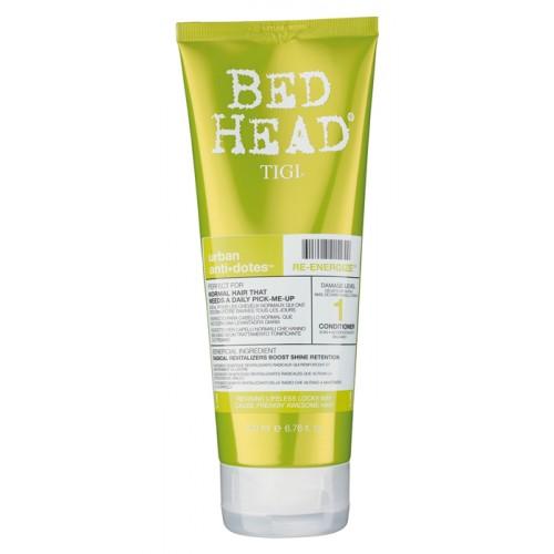 TIGI Кондиционер для нормальных волос уровень 1 / BED HEAD Urban Anti+dotes Re-Energize, 200 мл -  Кондиционеры