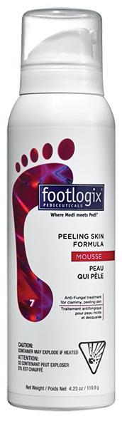FOOTLOGIX ���� ��������� ��� ���� ����� ������� ��� (����-���������) / Peeling skin formula 200��