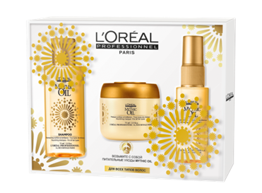 LOREAL PROFESSIONNEL �� �������� ����� ����� ���(���� 100 �� + ����� 75 �� + ����� Mythic Oil 45 ��)