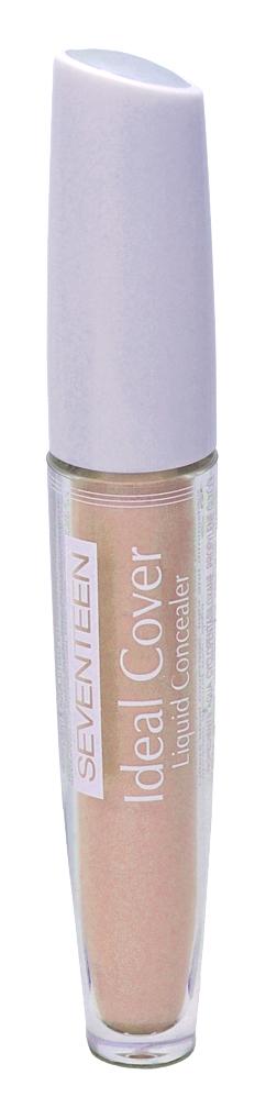 SEVENTEEN Крем тональный, № 04 натуральный / Ideal Cover Liquid Concelar 5 г