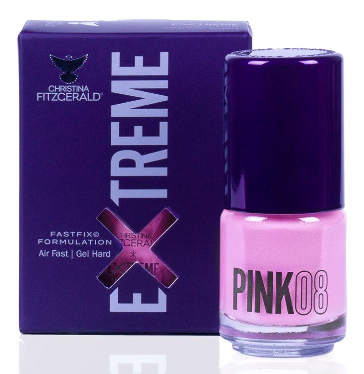 Купить CHRISTINA FITZGERALD Лак для ногтей 08 / PINK EXTREME 15 мл, Розовые