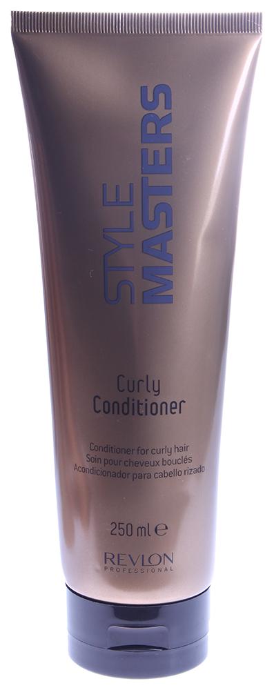 REVLON Кондиционер для вьющихся волос / STYLE MASTERS CURLY 250млКондиционеры<br>Кондиционер специально разработан для вьющихся, кудрявых волос, помогает образованию мягких и четко очерченных локонов. Питает, восстанавливает и укрепляет волосы, делает локоны упругими и управляемыми. Способ применения: нанести на влажные волосы легкими массажными движениями. Время выдержки 3 минуты, смыть большим количеством воды<br><br>Типы волос: Кудрявые