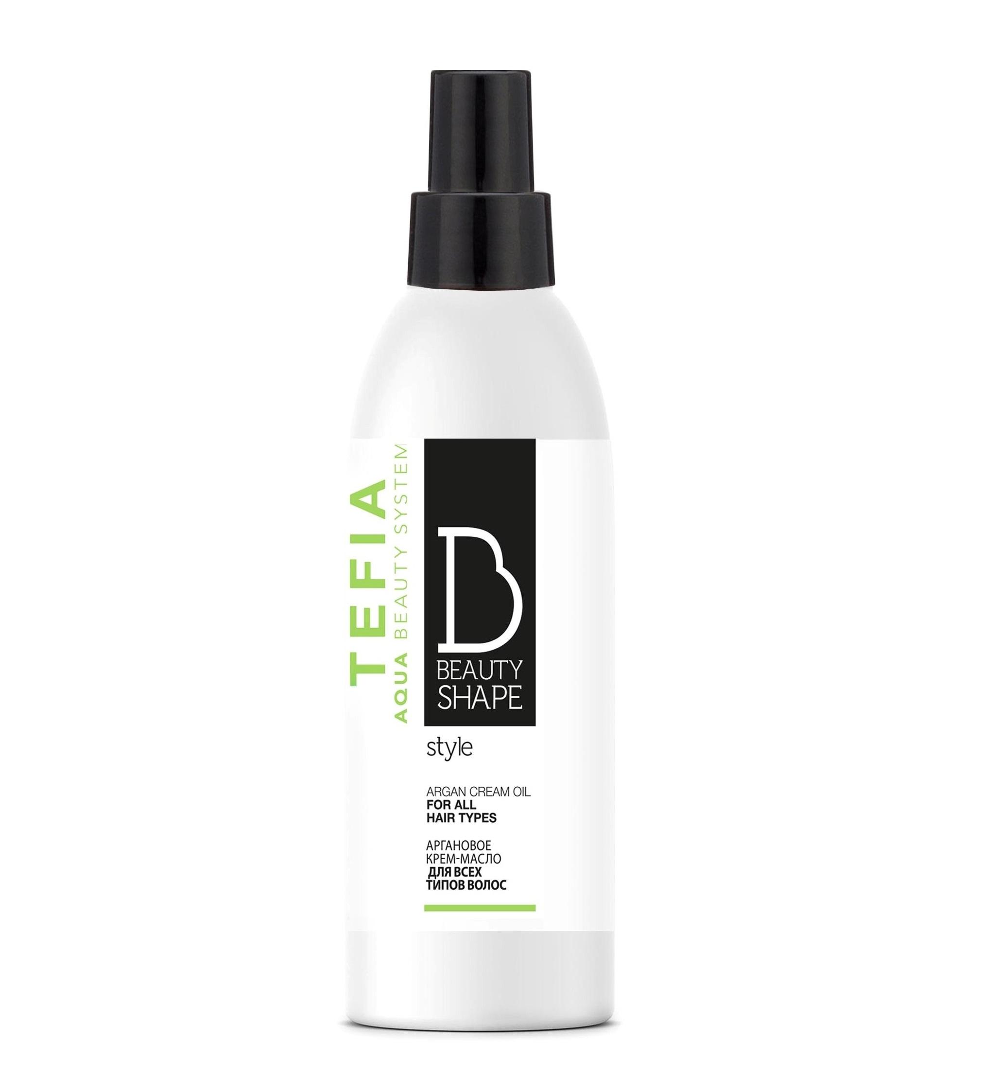 Купить TEFIA Крем-масло аргановое для всех типов волос / Beauty Shape Style 200 мл