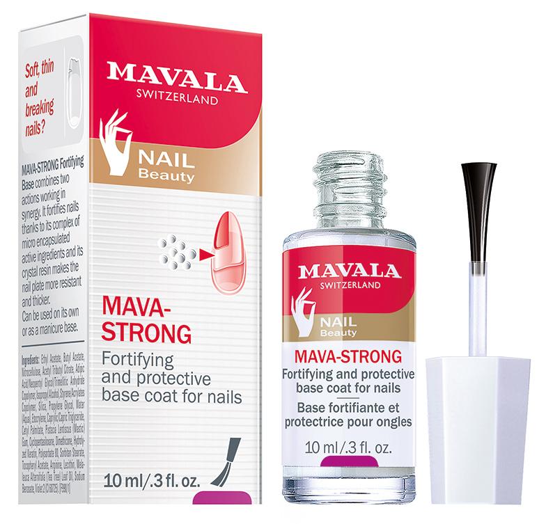Купить MAVALA Основа укрепляющая и защитная для ногтей Мава-Стронг / Mava-Strong 10 мл