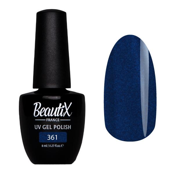 Купить BEAUTIX 361 гель-лак для ногтей 8 мл, Синие