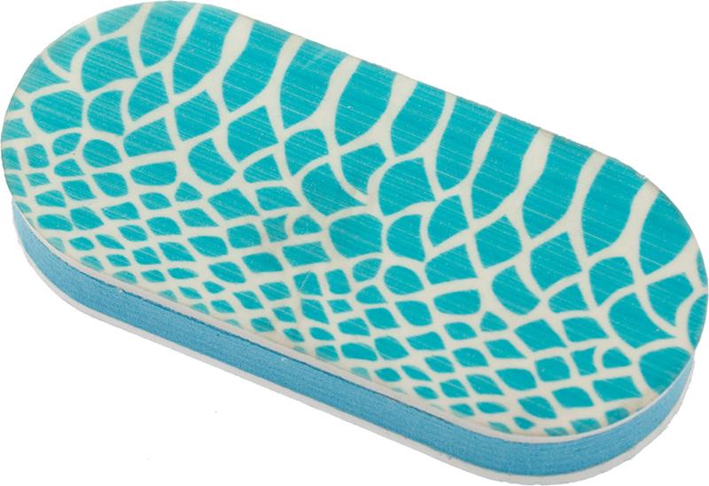 Купить DEWAL BEAUTY Брусок полировочный Дикая природа, голубая рептилия, 240/3000 грит 4x1, 2x9 см