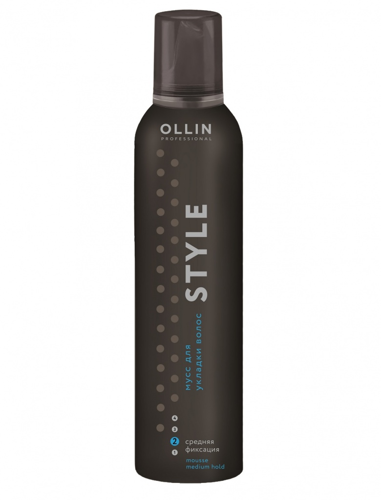 OLLIN PROFESSIONAL ���� ��� ������� ������� �������� / Mousse Medium HOLD 250��