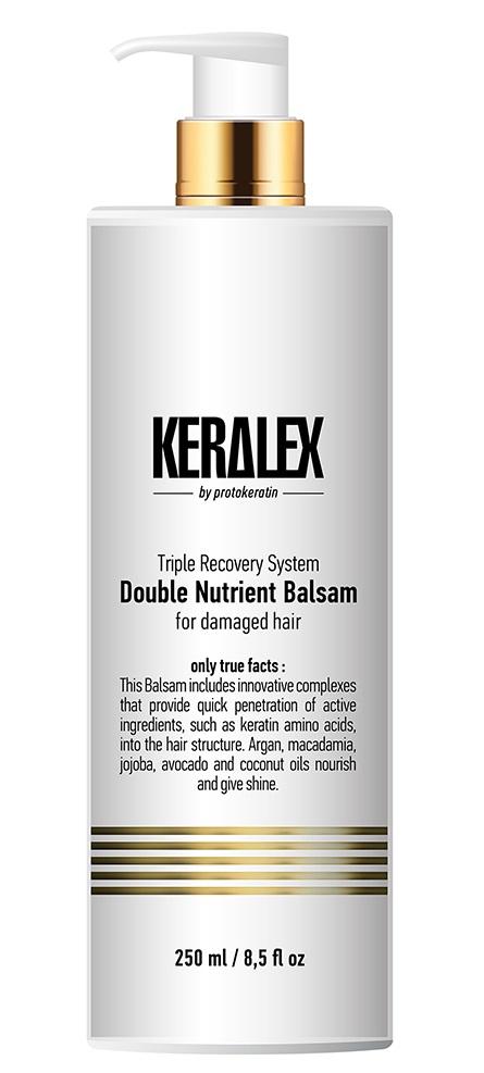 Купить PROTOKERATIN Бальзам высокоинтенсивный дуо-питание / Keralex 250 мл