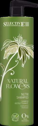 SELECTIVE PROFESSIONAL Шампунь питательный для восстановления волос / Nutri Shampoo Natural Flowers 1000мл
