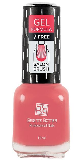 BRIGITTE BOTTIER 09 лак для ногтей гелевый, розовый / GEL FORMULA 12 мл фото