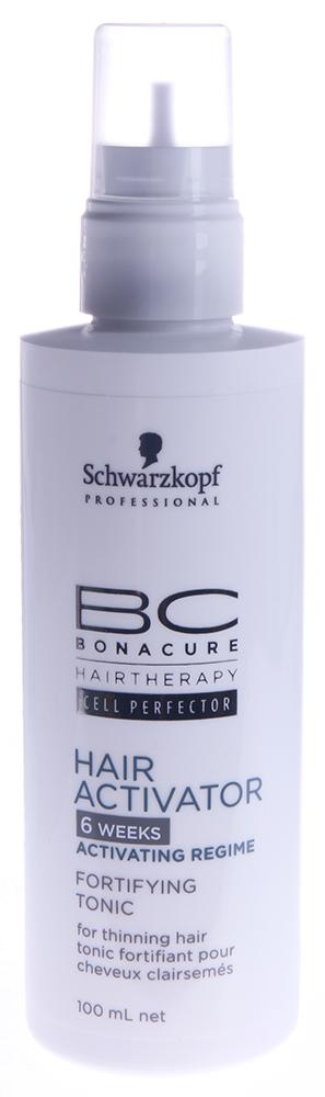 SCHWARZKOPF PROFESSIONAL Тоник для роста волос / BC HAIR&amp;SCALP 100млТоники<br>BC Сыворотка для роста волос BC Hair Growth Serum - активирует корни, усиливая плотность волос и снижая их наследственную склонность к выпадению. Деликатное очищение волос и кожи головы. Обеспечивает волосяные фолликулы высоко энергетическим питанием. Активные ингредиенты: Таурин - природный энергетик, который стимулирует рост. Карнитин Тартрат - энерджайзер для корней волос, увеличивает репродукцию и деление клеток. Эхинацея Пурпурная - хорошо известна в фито-медицине. Пантенол - восстанавливает баланс влажности. Аминная Технология Клеточного Восстановления - укрепляет и заново выстраивает структуру волоса на клеточном уровне. Способ применения: После использования шампуня BC Шампуня для роста волос Hair Growth Shampoo, нанесите каплями на кожу головы. 2-3 мл достаточно для одной процедуры. Распределяйте равномерно непосредственно на кожу. Примените мягкий массаж кожи головы. Не смывайте. Применяйте регулярно как минимум 24 недели.<br><br>Объем: 100<br>Назначение: Выпадение