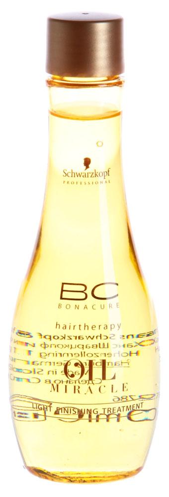 SCHWARZKOPF PROFESSIONAL Маска для нормальных и тонких волос (масло) / BC OIL MIRACLE 100мл (белое)Масла<br>Уровень ухода: 4 Масло с содержанием драгоценного масла Марулы незамедлительно придает волосам необычайную гладкость и обеспечивает насыщенное сияние, не перегружая. Инновационная эфирная формула моментально распределяет масло тончайшим слоем по полотну, позволяя насытить волосы максимальным питанием, придавая бриллиантовый блеск и эластичность жестким волосам. Активные ингредиенты: драгоценное масло Марулы. Способ применения: нанесите несколько капель масла на ладони и распределите на подсушенные полотенцем волосы. Высушите волосы феном или уложите как обычно.<br><br>Типы волос: Тонкие