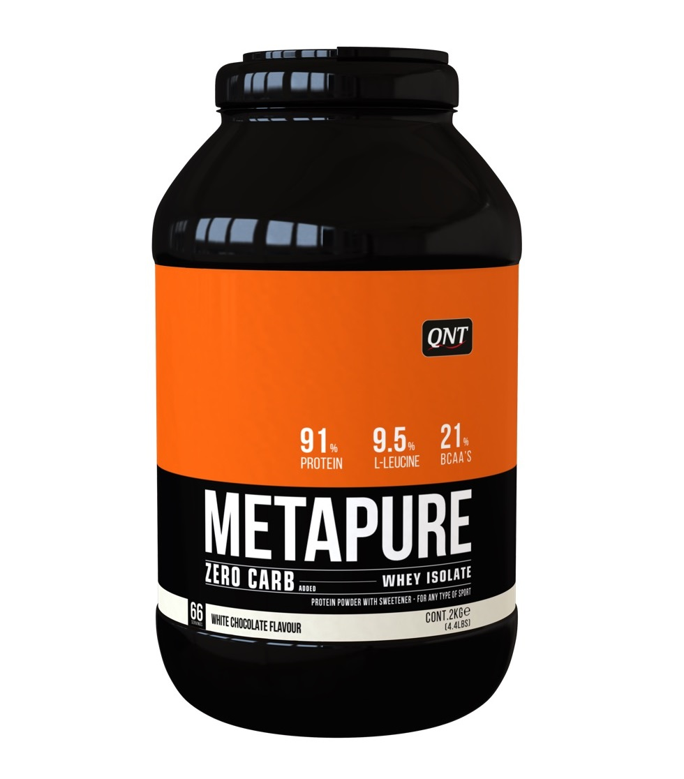 Купить QNT Добавка биологически активная к пище Метапьюр зеро карб, белый шоколад / ZERO CARB METAPURE White Chocolate 2 кг