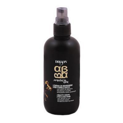 DIKSON Флюид питательный для ухода за вьющимися волосами / ARGABETA BEAUTY CREAM for CURLY HAIR 150млФлюиды<br>Идеально подходит для натуральных вьющихся волос и волос с химической завивкой. Оптимальное соотношение увлажняющих компонентов и антиоксидантов Масла Арганы, восстанавливают структуру волоса, защищают волосы от УФ-лучей, и обладает термозащитным эффектом . В результате необычайно блестящие локоны, при прикосновении - мягкие и податливые. Активные ингредиенты: Масло Аргании и Hairdensyl complex. Способ применения: Нанести на влажные волосы небольшое количество и распределить расческой. Высушить естественным путем, или использовать диффузор для увеличения объема.<br><br>Объем: 150<br>Вид средства для волос: Питательный<br>Типы волос: Кудрявые