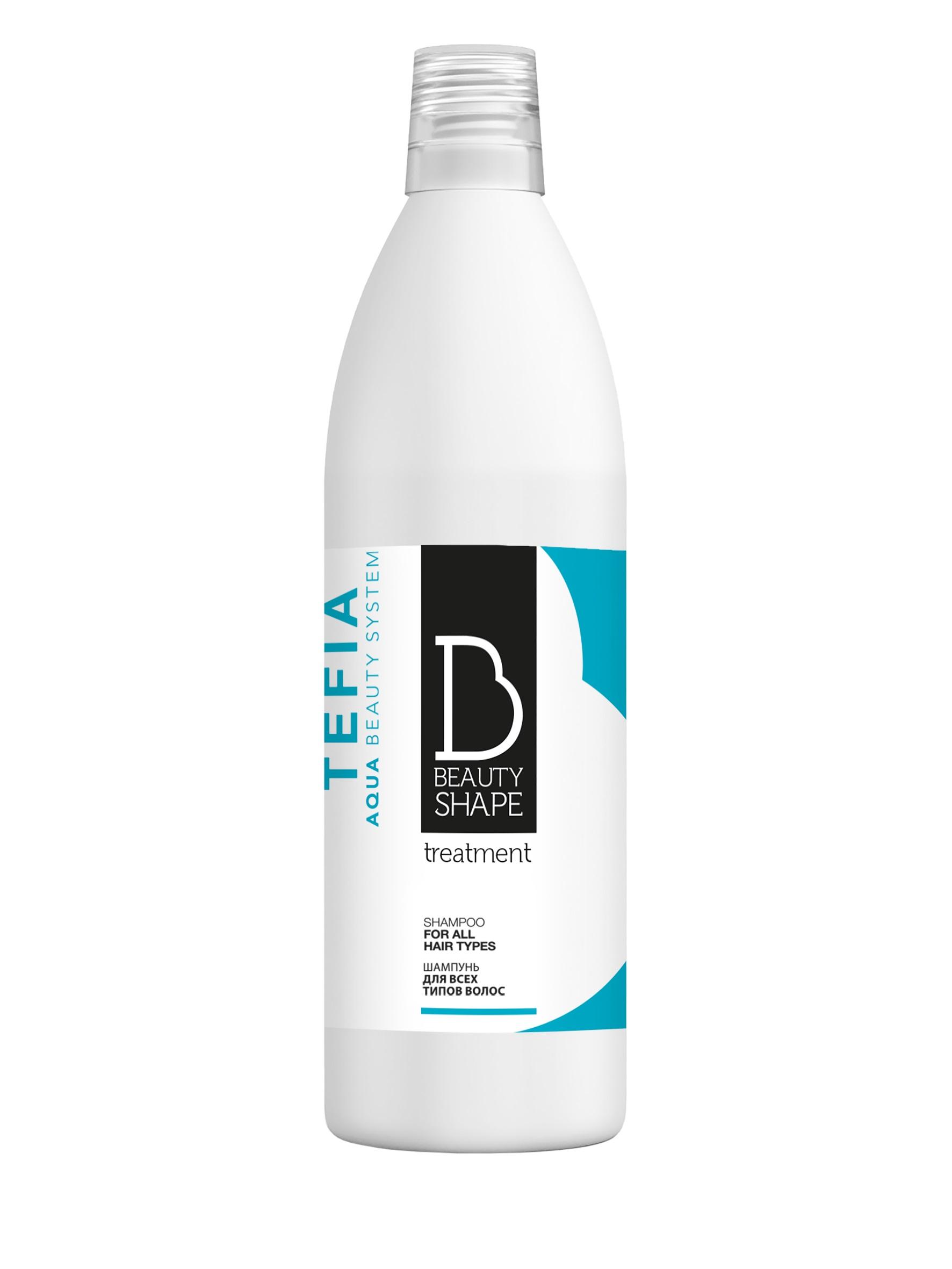 TEFIA Шампунь для всех типов волос / Beauty Shape Treatment 1000 мл фото