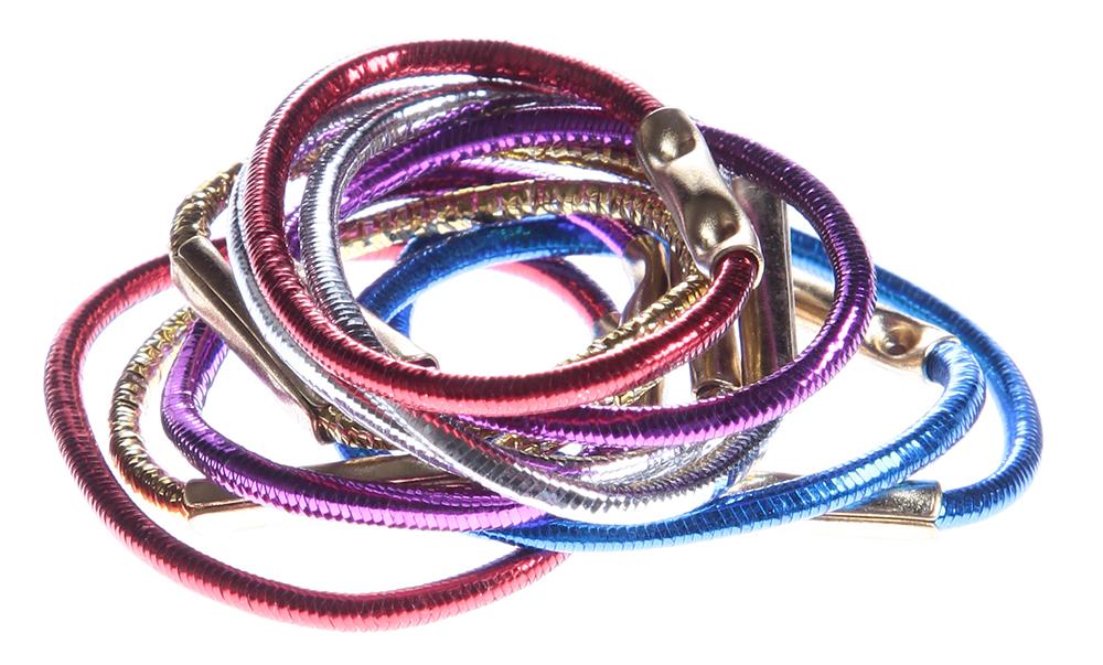 SIBEL Резинки Disco (25) мал. 10шт/упРезинки<br>Маленькие. Разноцветные. Металлик.<br>