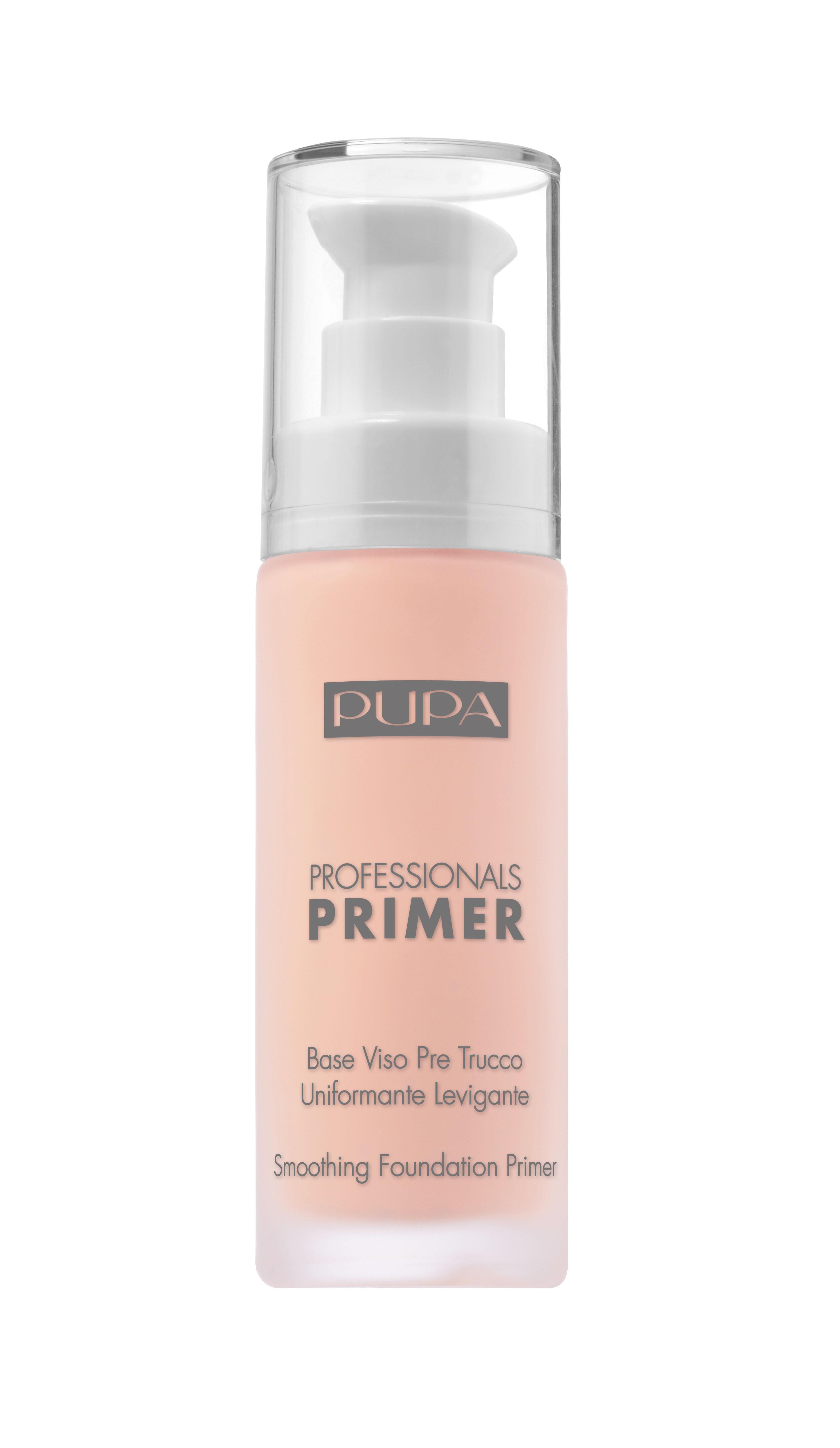 PUPA Основа под макияж, 005 Эффект здоровой кожи / PROFESSIONALS Smoothing Foundation Primer 30 мл