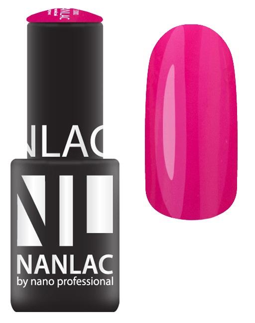 NANO PROFESSIONAL 2163 гель-лак для ногтей, Альба / NANLAC 6 мл