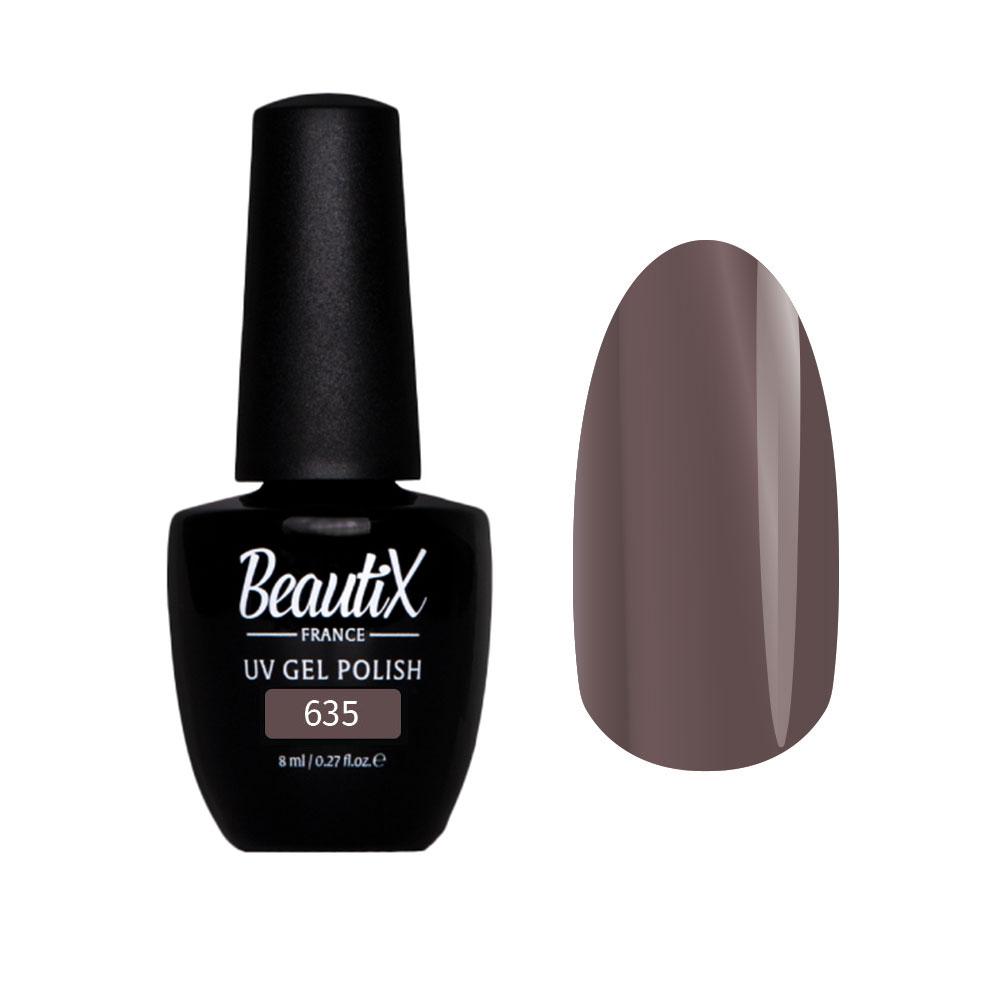 Купить BEAUTIX 635 гель-лак для ногтей 8 мл, Коричневые