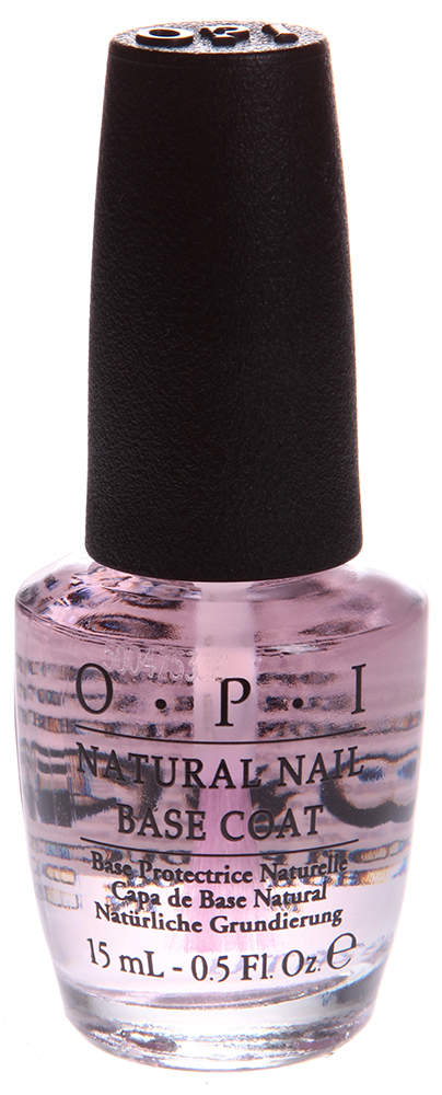 OPI Покрытие базовое для натуральных ногтей / Natural Nail Base Coat 15мл opi infinite shine nail lacquer no stopping me now 15 мл