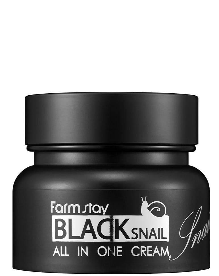 Купить FARMSTAY Крем с муцином черной улитки для лица / Black Snail 100 мл