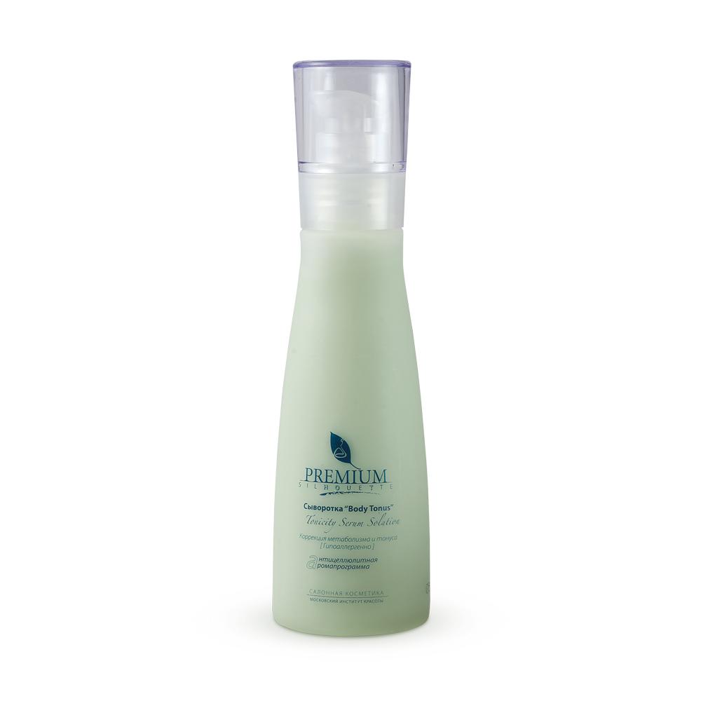PREMIUM Сыворотка Body Contour / Silhouette 125млСыворотки<br>Уникальный аромаконцентрат липолитических компонентов для радикальной коррекции липодистрофии 2 4 стадии Активизирует метаболизм, уменьшает жировые отложения, обеспечивает коррекцию фигуры. Активные ингредиенты: шунгитовая вода; эфирные масла: сладкого апельсина, мандарина, чайного дерева; экстракты: шитаке, плюща, ламинарии; никотиновая кислота; кофеин; желчь; масло кукурузы; смола склероция. Способ применения: нанести небольшое количество сыворотки на проблемные зоны круговым движениями снизу вверх. Применять самостоятельно, под обёртывание или перед процедурой массажа.<br><br>Объем: 125