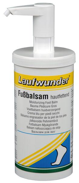 LAUFWUNDER Бальзам для ног увлажняющий ( с дозатором ) 450мл