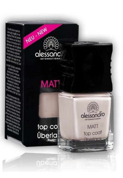 ALESSANDRO �������� ������� ������� ��� �������� / Top Coat Matt 10��