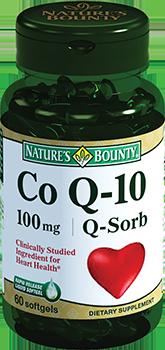 NATURES BOUNTY Коэнзим Q-10, капсулы 100 мг № 60