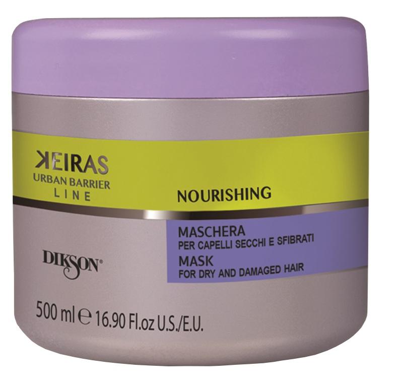 DIKSON Маска для поврежденных волос / KEIRAS MASK FOR DRY AND DAMAGED HAIR 500 мл