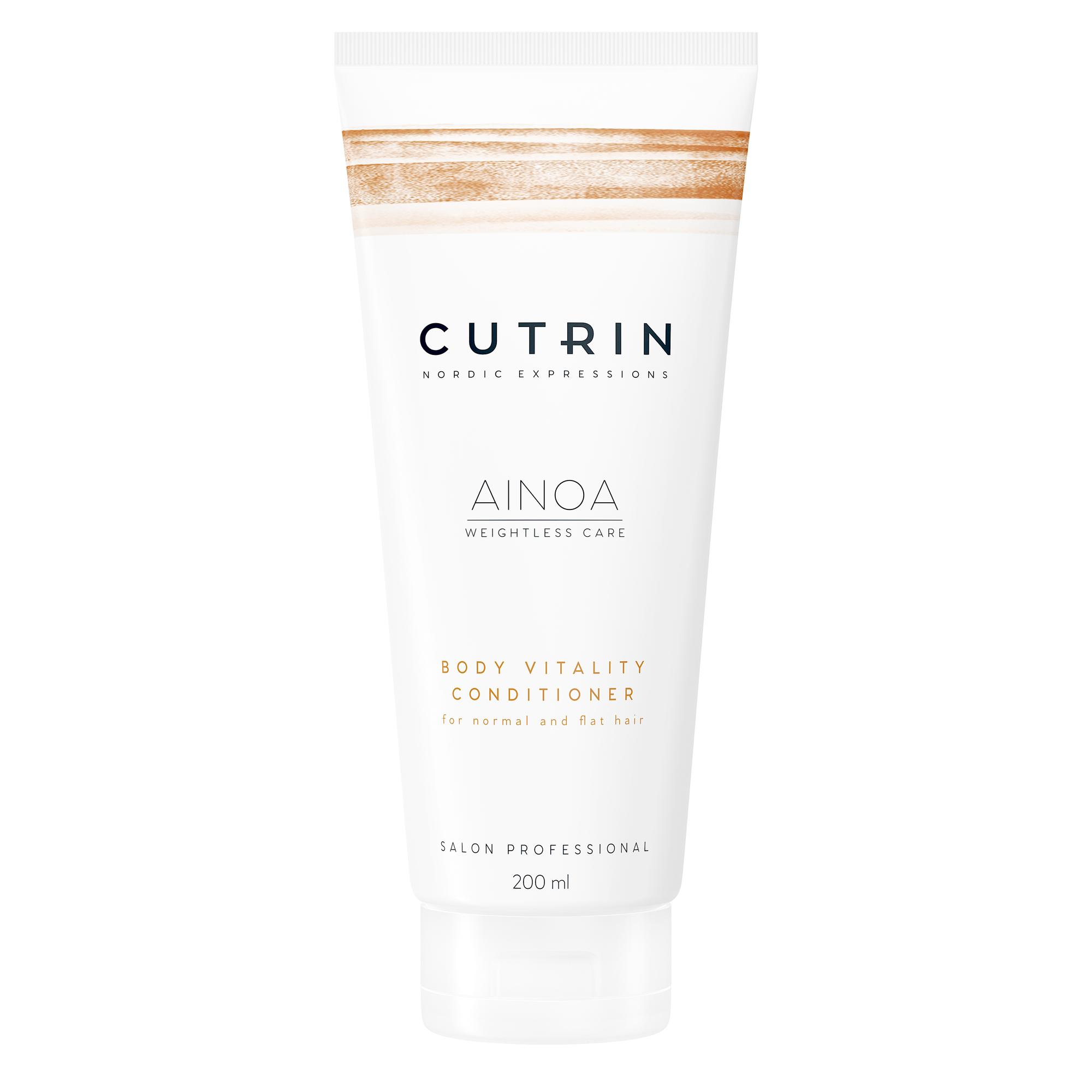 CUTRIN Кондиционер для укрепления волос / AINOA BODY VITALITY 200 мл.