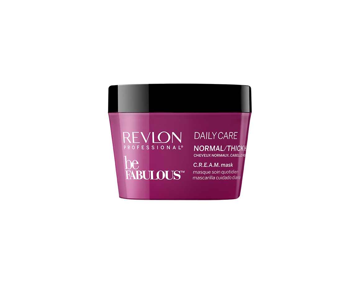 REVLON Маска ежедневный уход для нормальных/густых волос / FABULOUS 200 мл